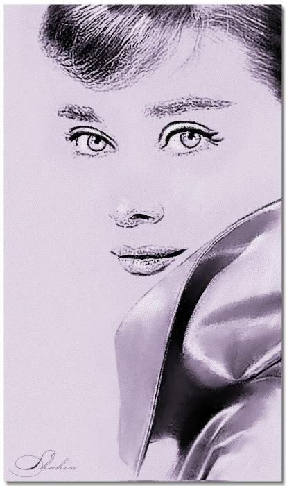 Audrey Hepburn por shahin